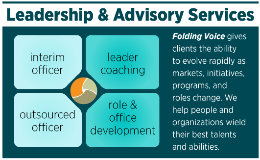 Information Graphic: Leadership and Advisory Services