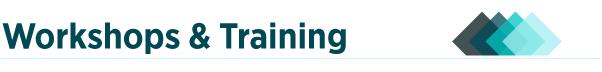 Large header: Workshops & Training